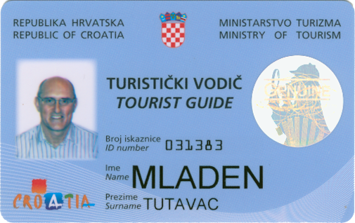 ID of the tour guide
